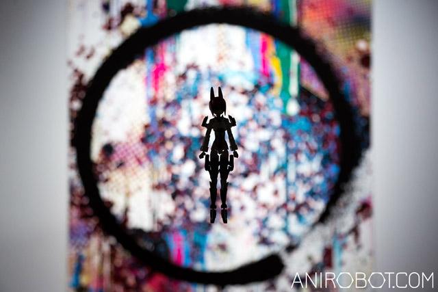 роботы на выставке Мураками