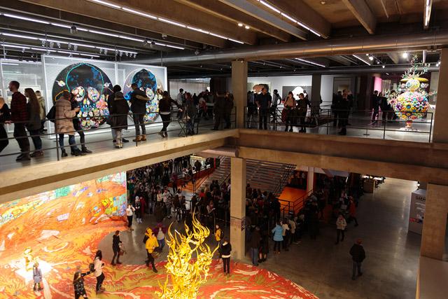 выставка Мураками в Гараже