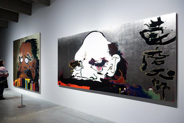 картины Такаси Мураками