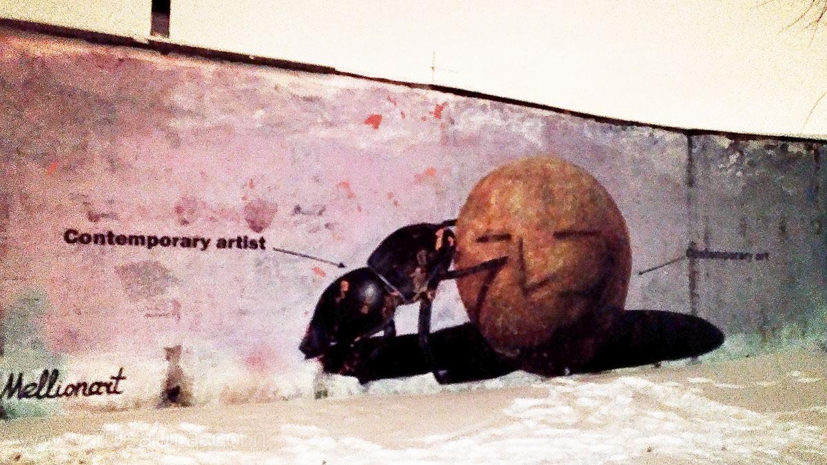 Винзавод и его месседж - стрит-арт @Mellionart