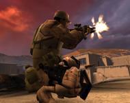 Кадр из игры America's Army