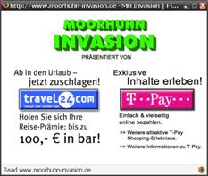 Онлайн-версия игры Moorhuhn
